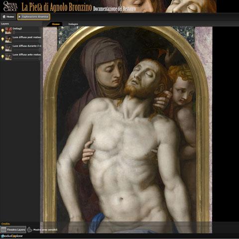 Pietà-Bronzino